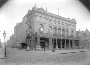 The Theatre Royal on Hawkins Street, pictured here c. 1910